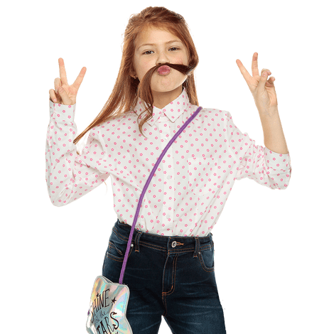 camisa-para-nina-manga-larga-piety-estampado-11y-snow-white-and-azalea-pink-flowers